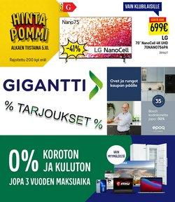 Tarjouksia yritykseltä Gigantti kaupungissa Gigantti lehtisiä ( Vanhenee pian)