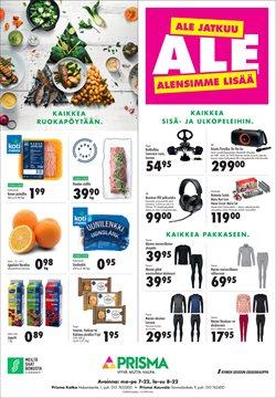 Elektroniikka ja Kodinkoneet tarjoukset Prisma kuvastossa Kouvola ( 2 päivää jäljellä )