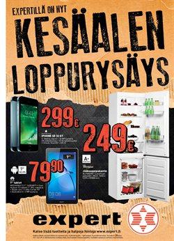 Elektroniikka ja kodinkoneet tarjoukset Expert kuvastossa Helsinki