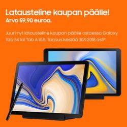 Tarjouksia yritykseltä Samsung kaupungissa Espoo lehtisiä