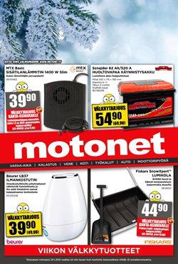 Tarjouksia yritykseltä Rautakauppa kaupungissa Motonet lehtisiä ( 3 päivää jäljellä )