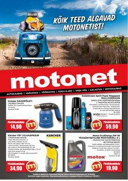 Tarjouksia yritykseltä Motonet kaupungissa Motonet lehtisiä ( 2 päivää jäljellä)
