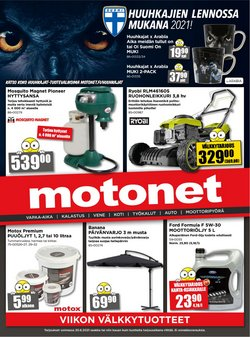 Tarjouksia yritykseltä Motonet kaupungissa Motonet lehtisiä ( Julkaistu eilen)