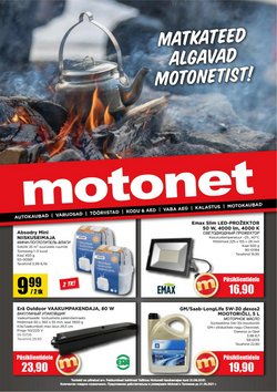 Tarjouksia yritykseltä Motonet kaupungissa Motonet lehtisiä ( 4 päivää jäljellä)