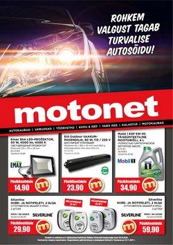 Tarjouksia yritykseltä Motonet kaupungissa Motonet lehtisiä ( 7 päivää jäljellä)