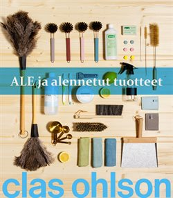 Clas Ohlson luettelo, ( 8 päivää jäljellä )