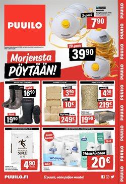 Rautakauppa tarjoukset Puuilo kuvastossa Helsinki ( 6 päivää jäljellä )