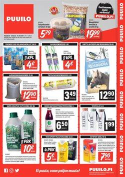Tarjouksia yritykseltä Rautakauppa kaupungissa Puuilo lehtisiä ( Vanhenee tänään )
