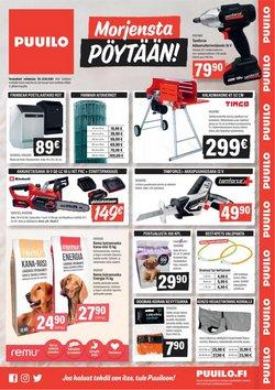 Tarjouksia yritykseltä Rautakauppa kaupungissa Puuilo lehtisiä ( Julkaistu eilen)