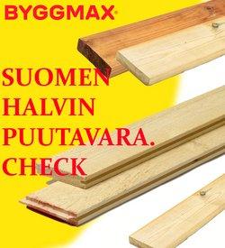 Rautakauppa tarjoukset Byggmax kuvastossa Iisalmi ( 13 päivää jäljellä )
