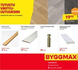 Tarjouksia yritykseltä Byggmax kaupungissa Byggmax lehtisiä ( 5 päivää jäljellä)