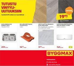 Tarjouksia yritykseltä Byggmax kaupungissa Byggmax lehtisiä ( Vanhentunut)