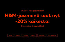 H&M -kuponki kaupungissa Vantaa ( Vanhenee tänään )