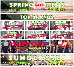 Tarjouksia yritykseltä Top Streetwear kaupungissa Top Streetwear lehtisiä ( 17 päivää jäljellä)