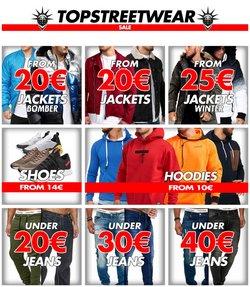 Tarjouksia yritykseltä Top Streetwear kaupungissa Top Streetwear lehtisiä ( 2 päivää jäljellä)