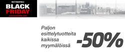 Tarjouksia yritykseltä Metropoli kaupungissa Helsinki lehtisiä