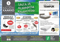 Tarjouksia yritykseltä Kaluste Kaakko kaupungissa Kaluste Kaakko lehtisiä ( 16 päivää jäljellä)