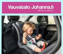 Tarjouksia yritykseltä Lelut ja Vauvat kaupungissa Vauvatalo Johanna lehtisiä ( 4 päivää jäljellä)