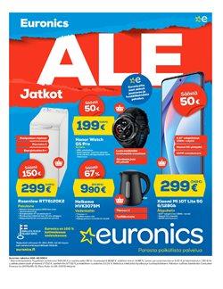 Elektroniikka ja Kodinkoneet tarjoukset Euronics kuvastossa Järvenpää ( 5 päivää jäljellä )