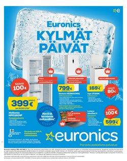 Tarjouksia yritykseltä Elektroniikka ja Kodinkoneet kaupungissa Euronics lehtisiä ( 28 päivää jäljellä)