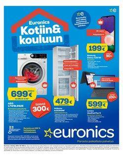 Tarjouksia yritykseltä Elektroniikka ja Kodinkoneet kaupungissa Euronics lehtisiä ( 5 päivää jäljellä)