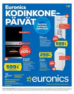 Euronics luettelo, ( Vanhenee pian)