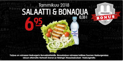 Ravintolat tarjoukset Hesburger kuvastossa Nurmijärvi