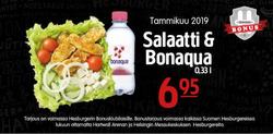 Ravintolat tarjoukset Hesburger kuvastossa Tampere