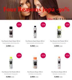 Kosmetiikka ja Kauneus tarjoukset Hairstore kuvastossa Järvenpää ( 20 päivää jäljellä )