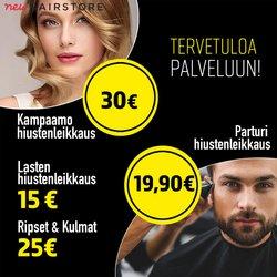 Tarjouksia yritykseltä Kosmetiikka ja Kauneus kaupungissa Hairstore lehtisiä ( 5 päivää jäljellä)
