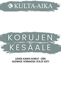 Tarjouksia yritykseltä Vaatteet ja Kengät kaupungissa Kulta-Aika lehtisiä ( Vanhenee tänään)