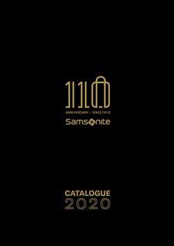 Samsonite luettelo, ( Yli 30 päivää )