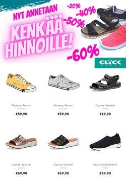 Tarjouksia yritykseltä Click Shoes kaupungissa Click Shoes lehtisiä ( Vanhentunut)