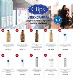 Kosmetiikka ja Kauneus tarjoukset Clips kuvastossa Helsinki ( 3 päivää jäljellä )