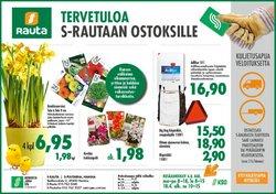 Rautakauppa tarjoukset S-Rauta kuvastossa Iisalmi ( Vanhenee pian )