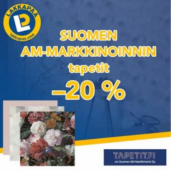 Tarjouksia yritykseltä Lakkapää kaupungissa Lakkapää lehtisiä ( 4 päivää jäljellä)