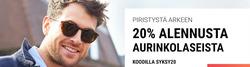 Tarjouksia yritykseltä Sunglasses Shop kaupungissa Helsinki lehtisiä