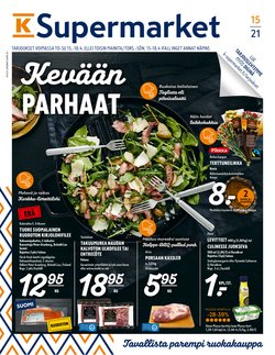 Supermarket tarjoukset K-Supermarket kuvastossa Salo ( Vanhenee pian )