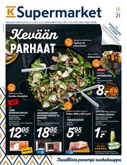 K-Supermarket -luettelo, Helsinki ( Vanhenee pian )