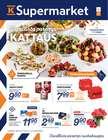 K-Supermarket luettelo, ( Vanhenee pian )