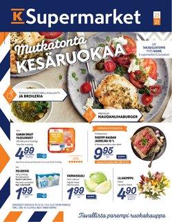 K-Supermarket luettelo, ( Vanhenee tänään)