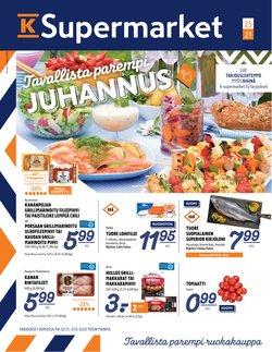 K-Supermarket luettelo, ( 4 päivää jäljellä)