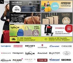 Tarjouksia yritykseltä NT-Bags kaupungissa NT-Bags lehtisiä ( 13 päivää jäljellä)