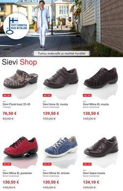 Tarjouksia yritykseltä Sievi Shop kaupungissa Sievi Shop lehtisiä ( 14 päivää jäljellä)