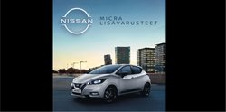 Tarjouksia yritykseltä Nissan kaupungissa Nissan lehtisiä ( Yli 30 päivää)