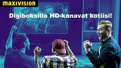 Tarjouksia yritykseltä Maxivision kaupungissa Maxivision lehtisiä ( 9 päivää jäljellä)