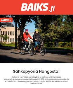 Tarjouksia yritykseltä Baiks kaupungissa Baiks lehtisiä ( Vanhentunut)