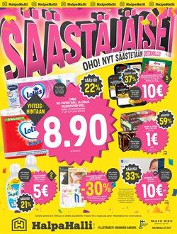 Supermarket tarjoukset HalpaHalli kuvastossa Lempäälä ( Vanhenee tänään )