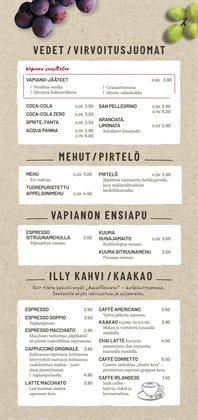 Ravintolat tarjoukset Vapiano kuvastossa Helsinki ( 24 päivää jäljellä )