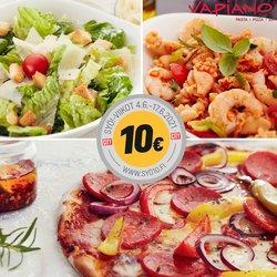 Tarjouksia yritykseltä Ravintolat kaupungissa Vapiano lehtisiä ( Vanhenee pian)